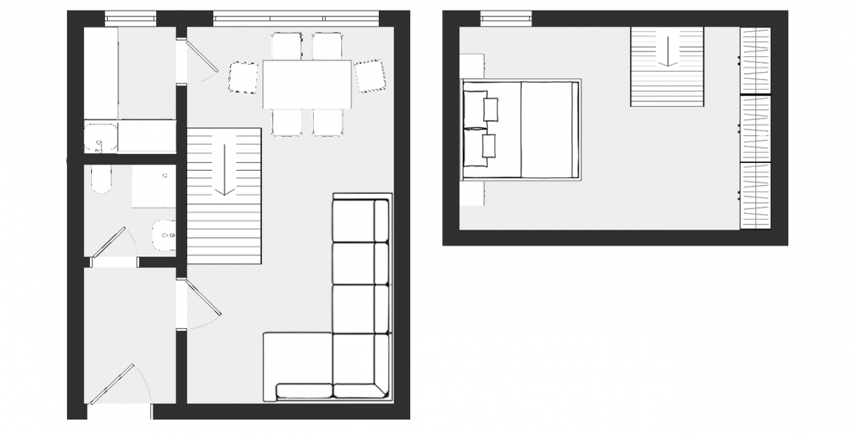 Appartement 15 – 4.OG Plan